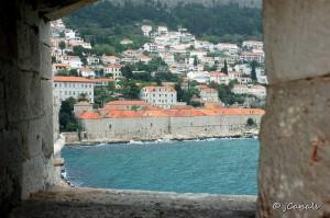 Dubrovnik - Espitllera a la Muralla
