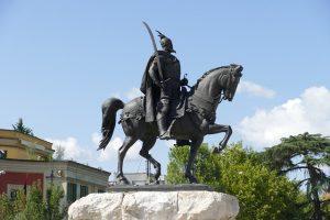 Statua Giorgio Castriota Skanderbeg