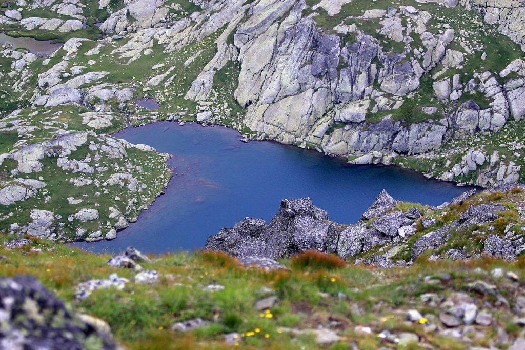 Lago monte Đeravica
