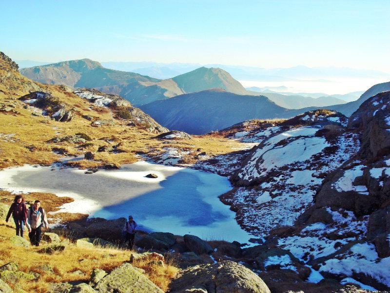 Lago sul monte Djeravica