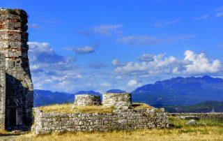 Castello a Scutari in Albania