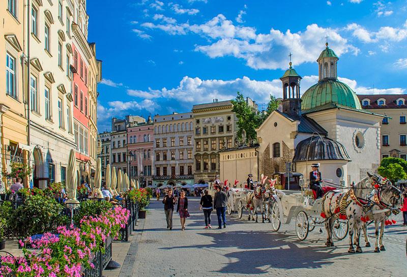 Visitare Cracovia