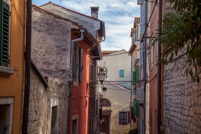 Centro storico Rovigno Istria