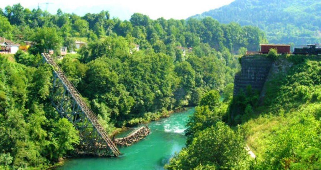 Ponte battaglia della Neretva