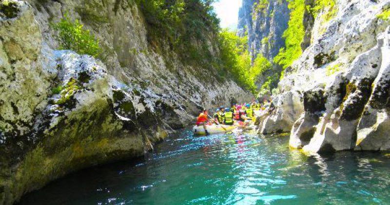 Rafting sul fiume Neretva