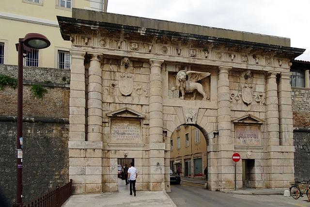 Zadar: porta della città